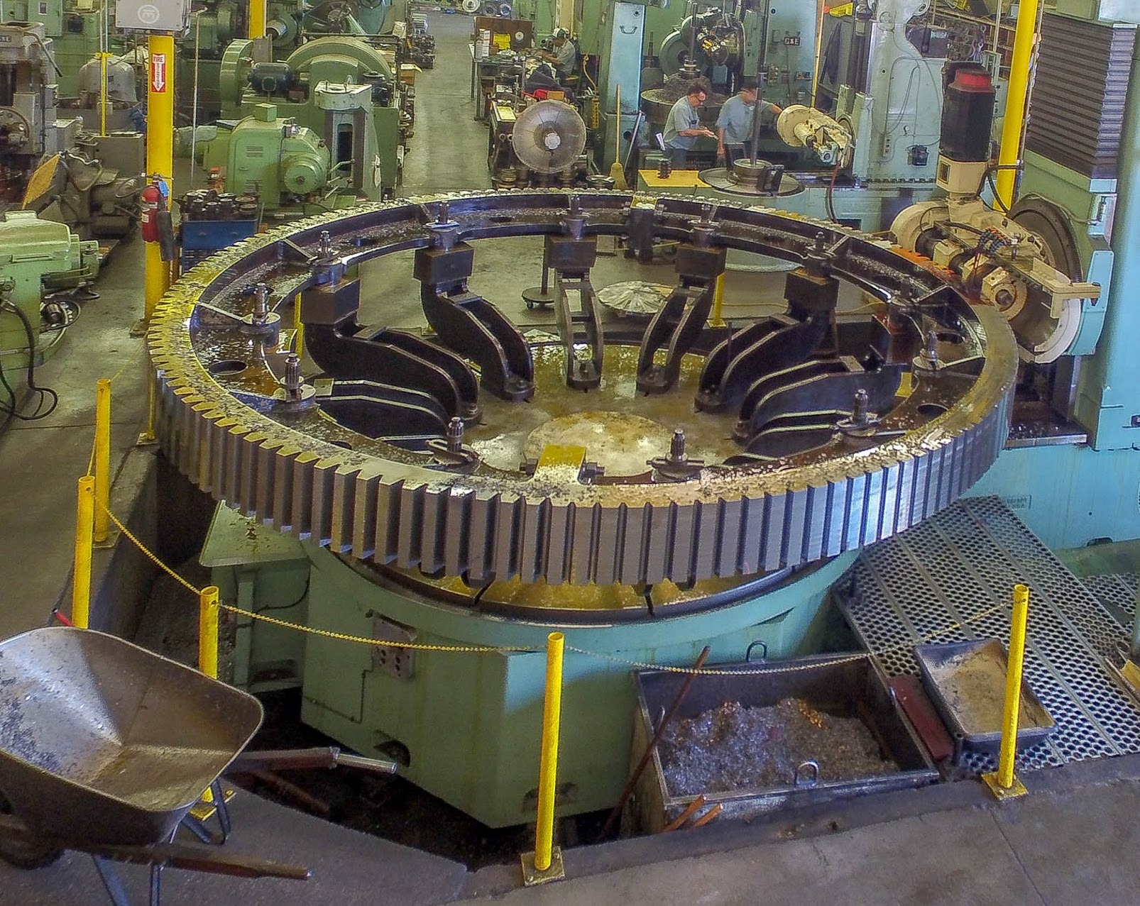 Large Scale Gear Manufacturing for a Mining Application