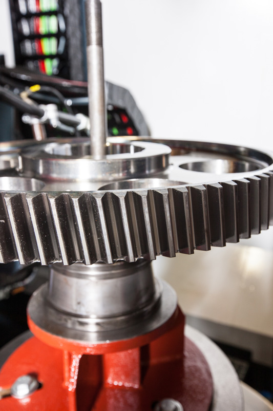CNC Machining of Hardened Steel Spur Gear